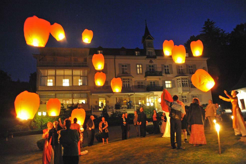 Beispiel: Romantisches Ambiente für Ihre Hochzeit, Foto: Bad Schauenburg.