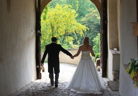 Beispiel: Brautpaar, Foto: Schloss Scharfenberg.