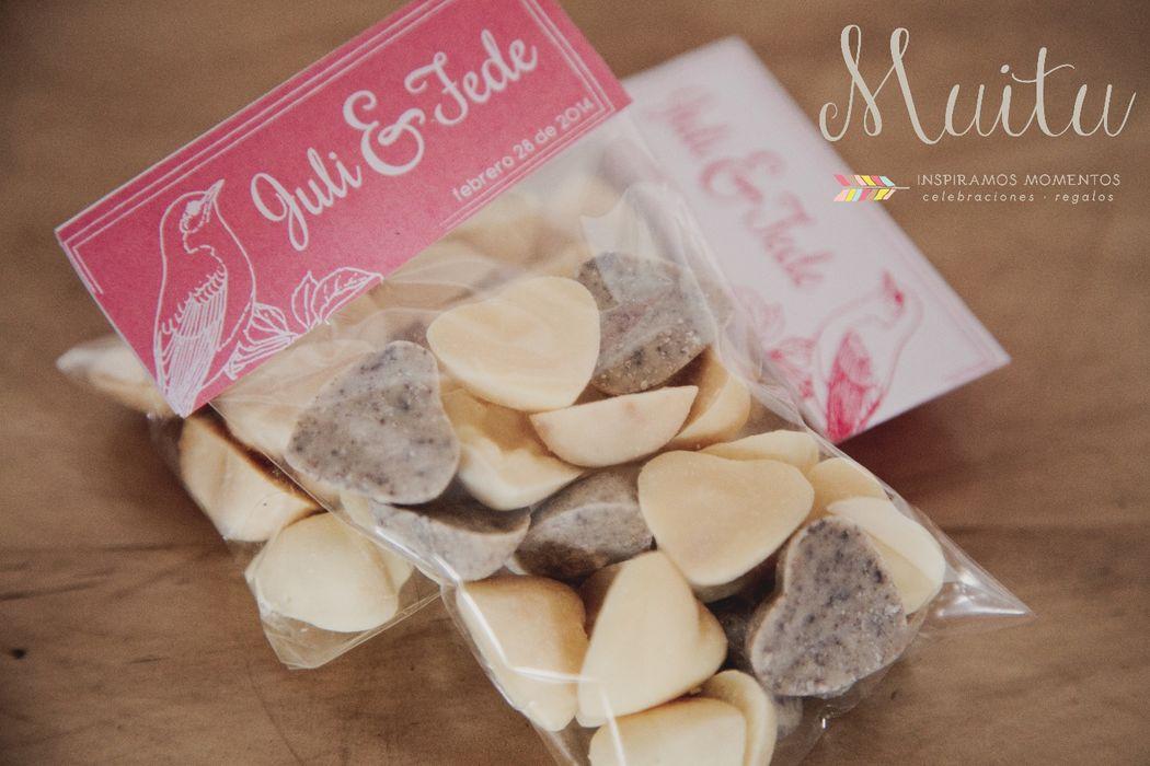 Recordatorios: Chocolates artesanales