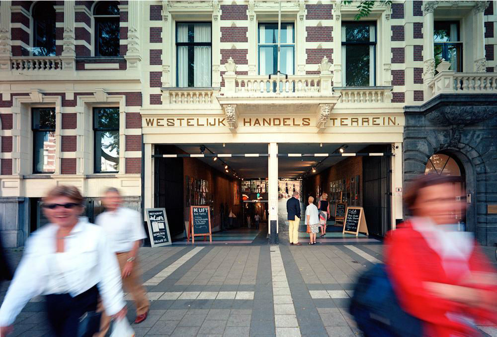 Westelijk Handelsterrein Rotterdam Ingang