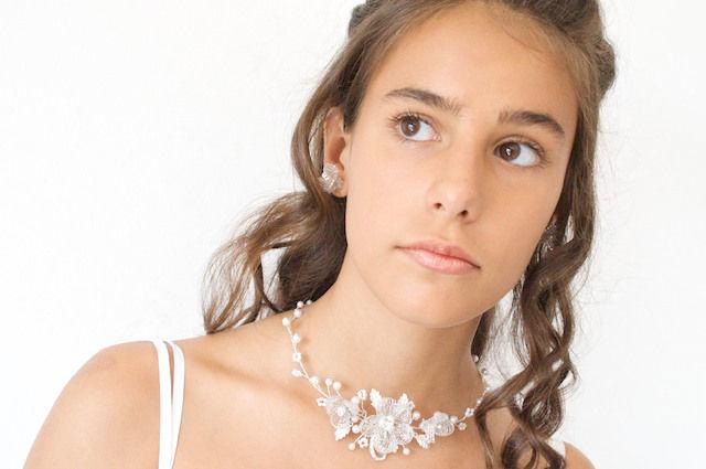 Arya Italian Jewels - Gioielli Sposa e Matrimonio - Collana Sposa  con Swarovski