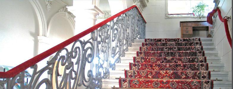 Beispiel: Feststiege, Foto: Villa Raczynski.