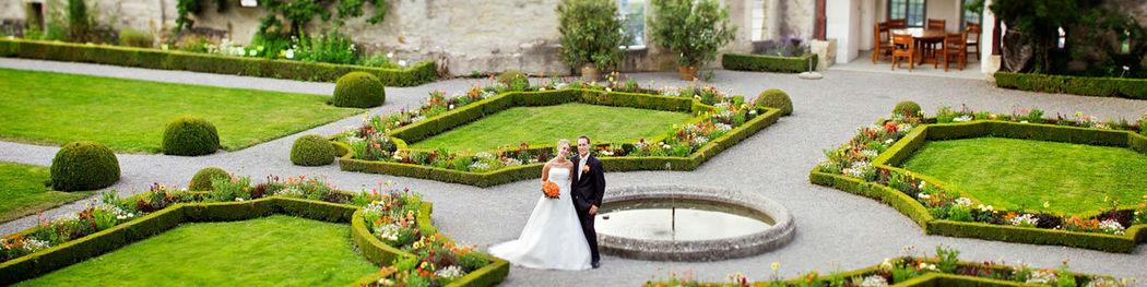 Beispiel: Brautpaar, Foto: Schloss Lenzburg.