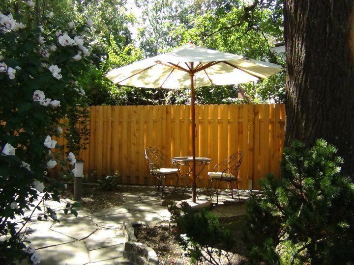 Beispiel: Gartenecke, Foto: Restaurant Meersalz.