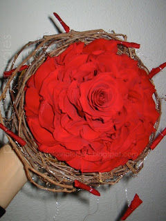 Rosmelia roja fresca