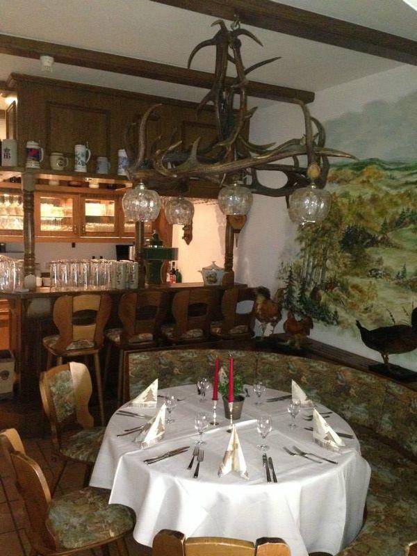 Beispiel: Restaurant, Foto: Waldgasthaus & Hotel Stiefelburg.