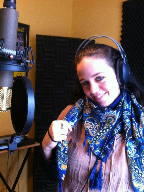 Beispiel: Im Studio, Foto: Delightful Voices.