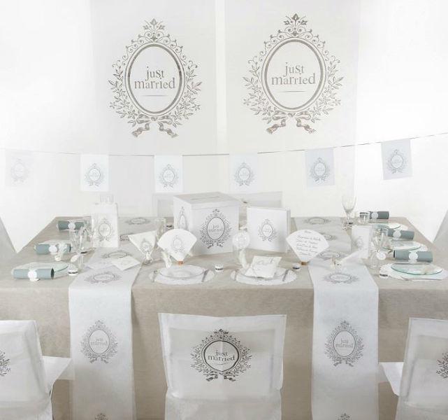 Beispiel: Hochzeitsdekoration, Foto: Ja-Hochzeitsshop.