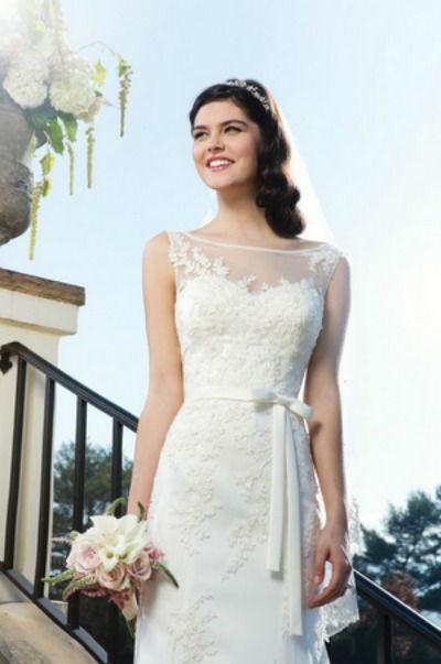 Beispiel: Brautkleid, Foto: Sissi Brautmoden.