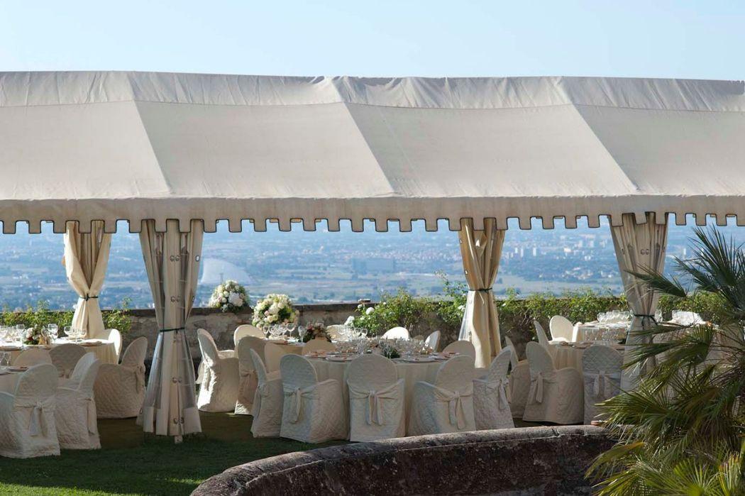 Park Hotel Villa Grazioli: Gazebo del giaridno pensile