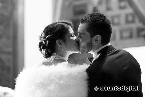 El beso.Foto Asunto Digital
