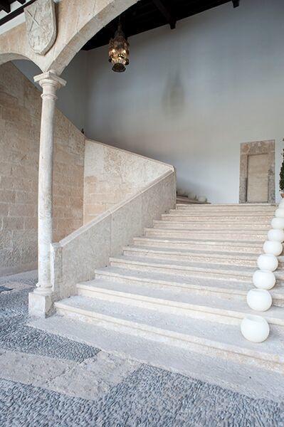 Escalera. Palacio de Montarco