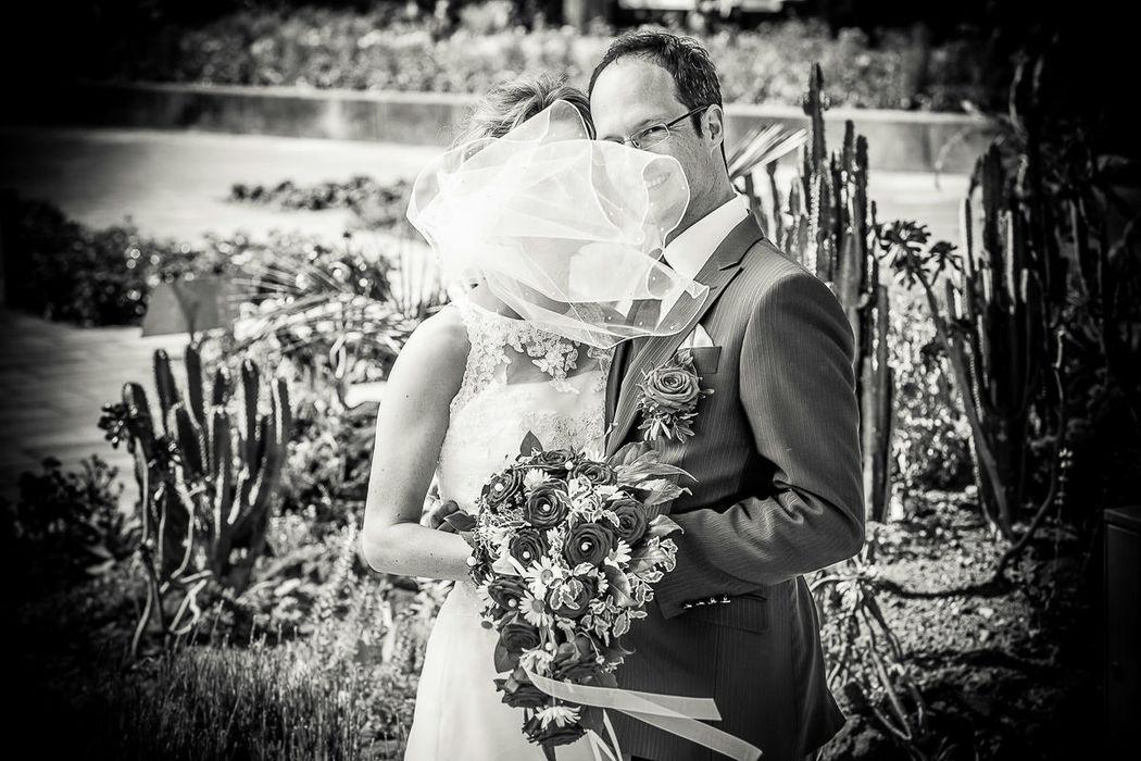 Beispiel: Professionelle Hochzeitsfotografie, Foto: Christian Pöltl.