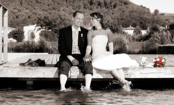 Beispiel: Brautpaar Foto: Delcanto.