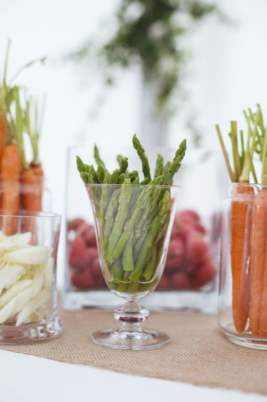 Buffet de légumes - Dans votre petite cuisine