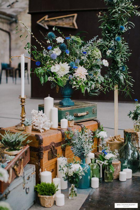 Les Mauvaises Herbes, artisans fleuristes. Credit photo: Mya photography. Credit photo: Mya Photography