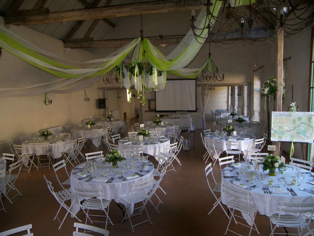 Salle de mariage du château de Beaujeu
