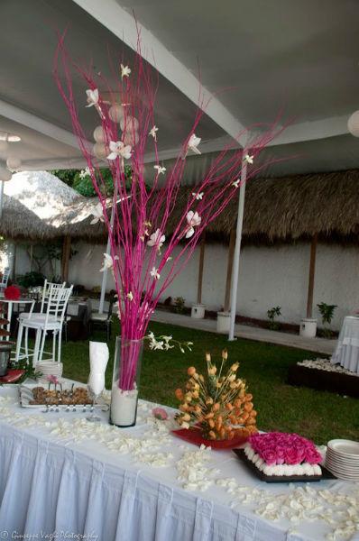 Diseño de centros de mesa originales - Foto Casa Colima