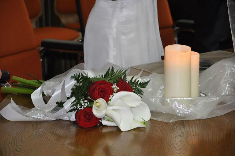 Beispiel: Dekoration und Hochzeitsflorisitk, Foto: Meine Wunschhochzeit.