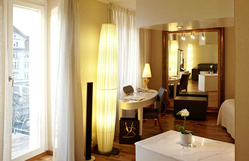 Beispiel: Hotelzimmer, Foto: Hotel des Balances.