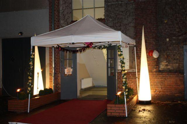 Beispiel: Eingang, Foto: Alte Pulverfabrik.