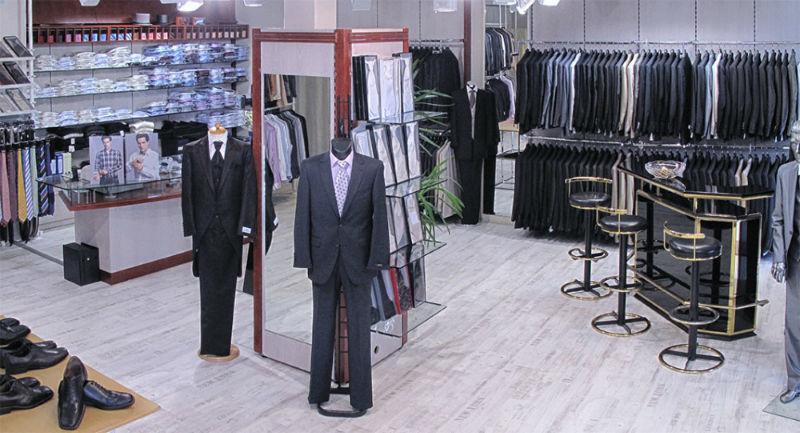 Beispiel: Umfassendes Angebot im Ladengeschäft in Berlin, Foto: K. For Men.