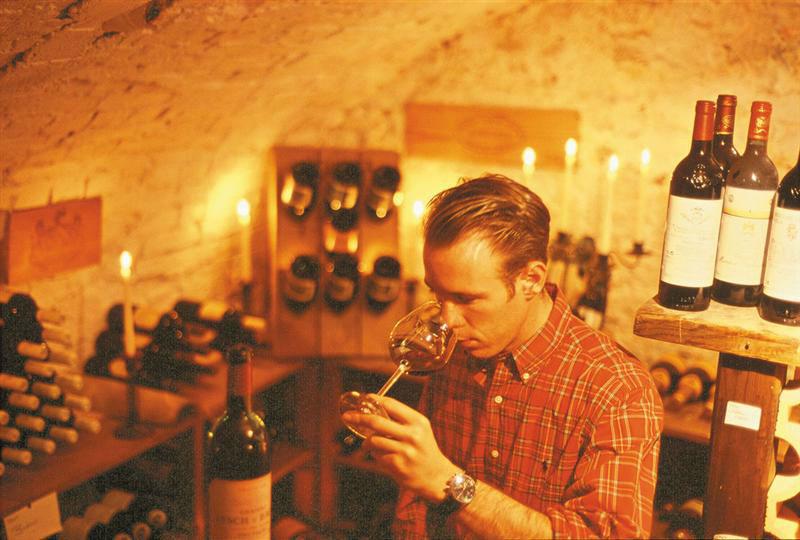 Beispiel: Erlesene Weine, Foto: Landhaus Diedert Catering.