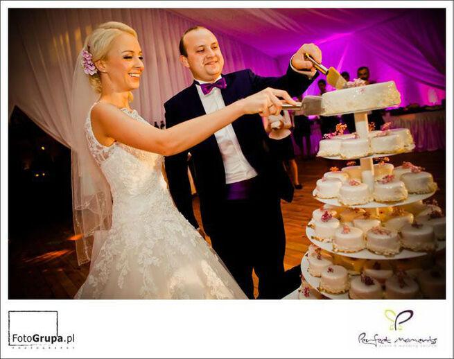 tort pod namiotem :-) wesele nad morzem