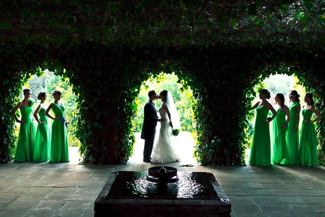 Fotos de boda con damas, en Edo de Mex.