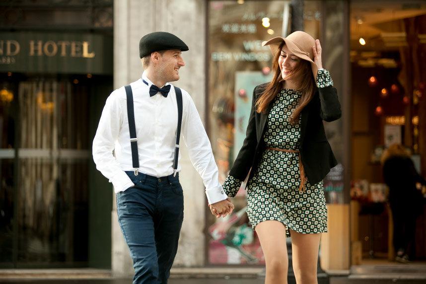 Post boda en París