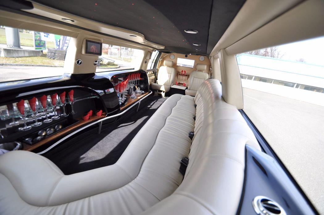 Innenansicht Lincoln Navigator Stretch-Limo