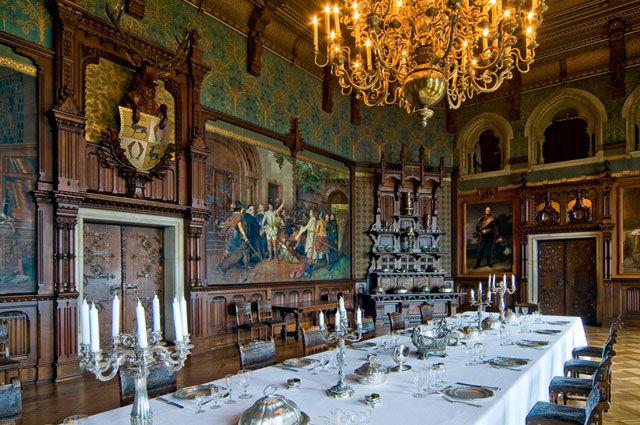 Beispiel: Tischdekoration, Foto: Schloss Wernigrode.