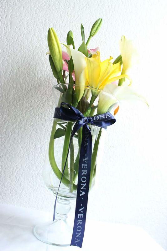 Scafati ( callas, lilies y gerberas)