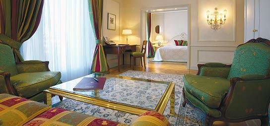 Beispiel: Hotelsuite, Foto: Colombi Hotel.
