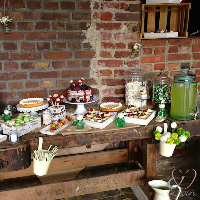 Beispiel: Candy-Bar, Foto: Mr. & Mrs. Hochzeitsplaner.