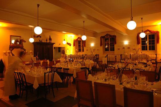 Beispiel: Hochzeitssaal, Foto: Kuffler Catering.