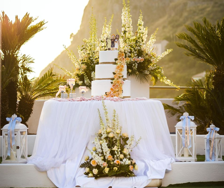 Grand Hotel Pianeta Maratea - wedding cake a bordo piscina   -  photo: http://www.ndphoto.it/