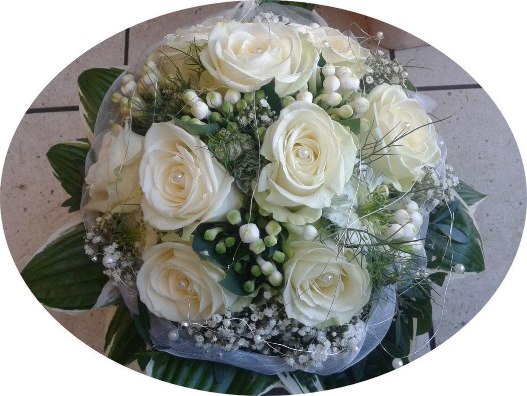 Beispiel: Ein Traum in Weiß, Foto: Blumen Reichert.