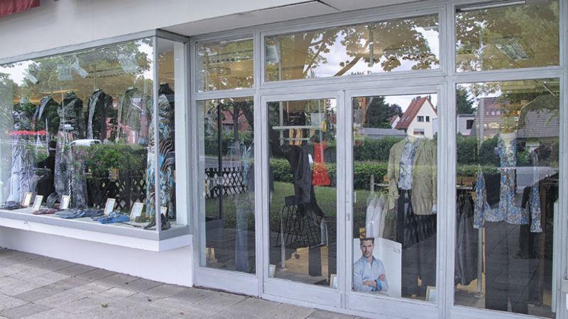 Beispiel: Schaufenster, Foto: K. For Men.