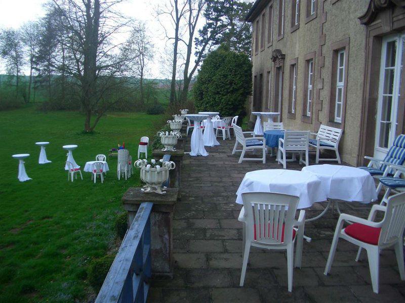Beispiel: Terrasse, Foto: Gut Sennickerode.