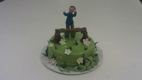 Beispiel: Tortenkunst, Foto: Konditorei Rainberg.