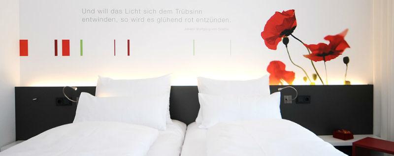Beispiel: Zimmer, Foto: Lago Hotel & Restaurant.