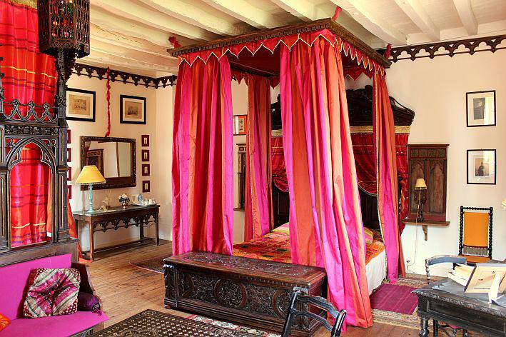 Château de Chambiers - hébergement la chambre d'hôtes Pierre Loti