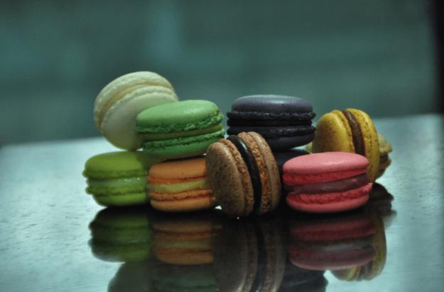 Macarons personalizados con colores diferentes - Foto Le Macaron Boutique
