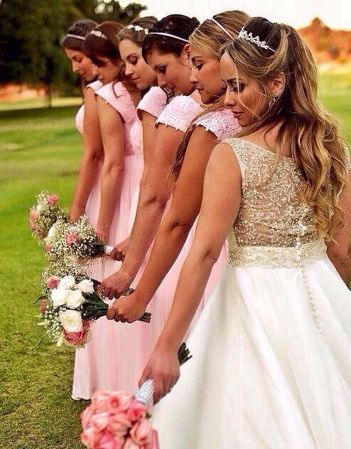 novia y madrinas