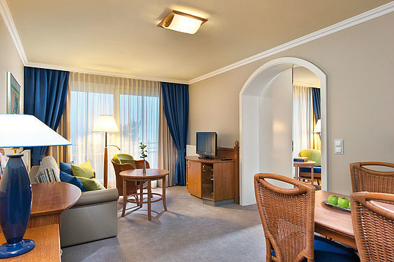 Beispiel: Familiensuite, Foto: Travel Charme Strandhotel Bansin.