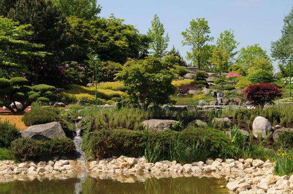 Beispiel: Garten, Foto: Dehner Blumen Hotel.