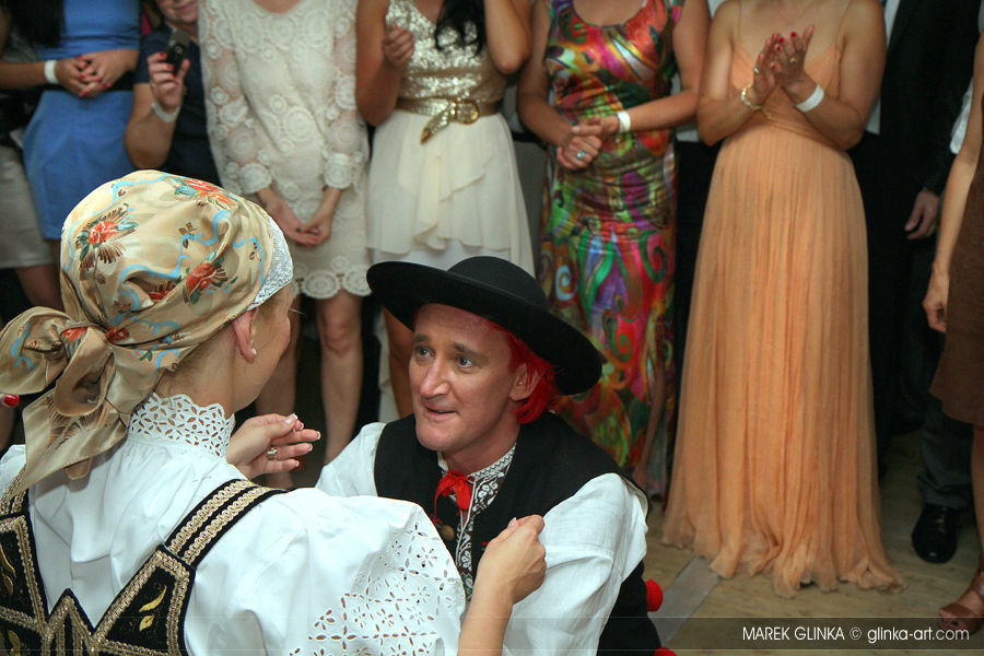 Góralskie wesele Dominiki i Michała Wiśniewskich