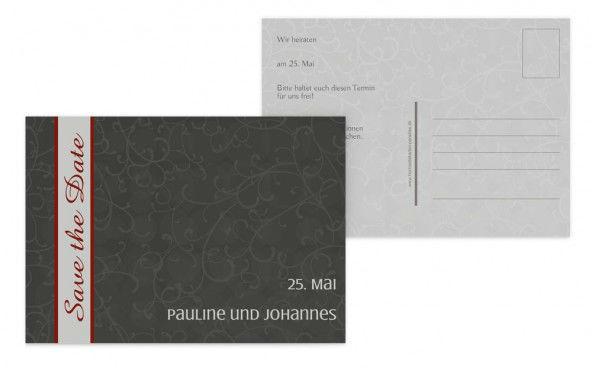Beispiel: Originelles Design, Foto: Hochzeitskarten- Paradies.