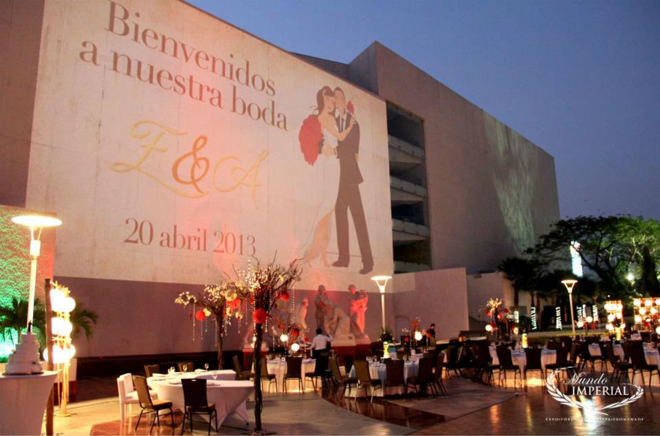 Expo Mundo Imperial, Centro de Convenciones para que celebres tu boda en Acapulco.